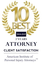 10 Best Attorney - 2 years - personal injury